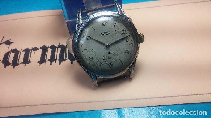 Relojes de pulsera: Botito y muy antiguisimo reloj de cuerda de caballero FORTIS - Foto 2 - 101285619