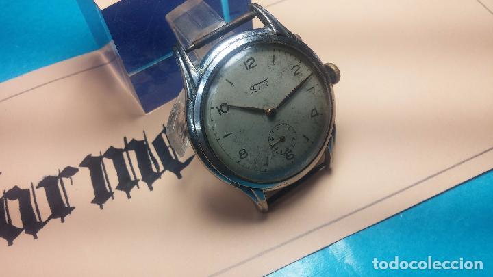 Relojes de pulsera: Botito y muy antiguisimo reloj de cuerda de caballero FORTIS - Foto 3 - 101285619