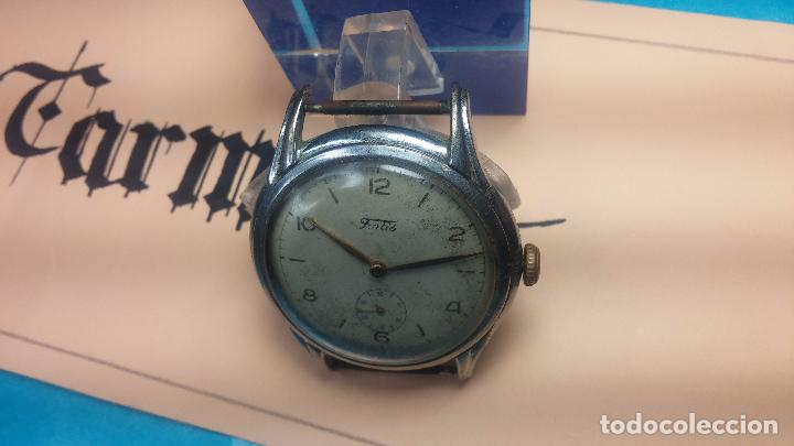Relojes de pulsera: Botito y muy antiguisimo reloj de cuerda de caballero FORTIS - Foto 4 - 101285619