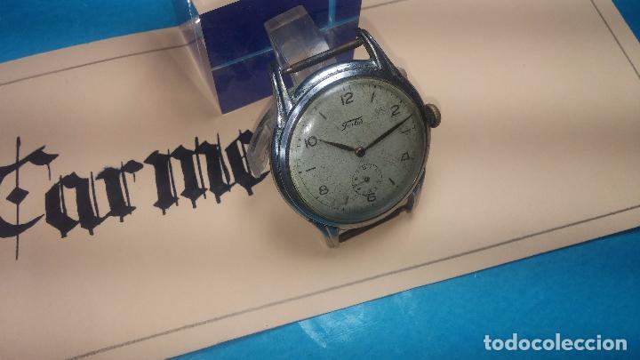 Relojes de pulsera: Botito y muy antiguisimo reloj de cuerda de caballero FORTIS - Foto 7 - 101285619