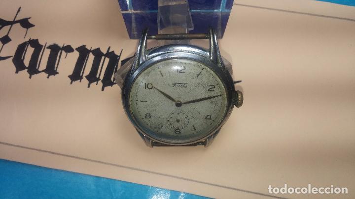 Relojes de pulsera: Botito y muy antiguisimo reloj de cuerda de caballero FORTIS - Foto 8 - 101285619