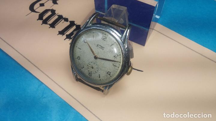 Relojes de pulsera: Botito y muy antiguisimo reloj de cuerda de caballero FORTIS - Foto 9 - 101285619