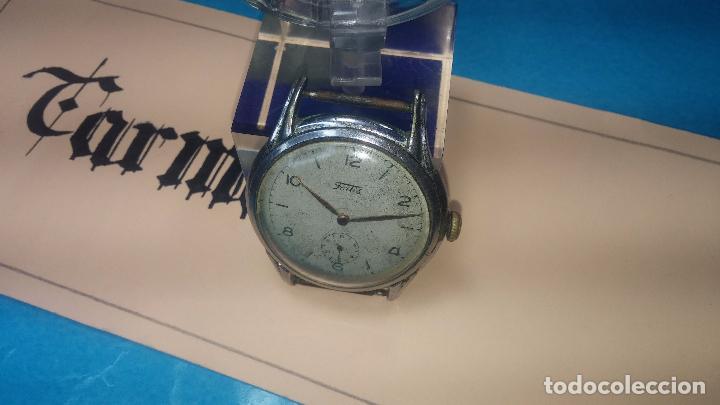 Relojes de pulsera: Botito y muy antiguisimo reloj de cuerda de caballero FORTIS - Foto 11 - 101285619