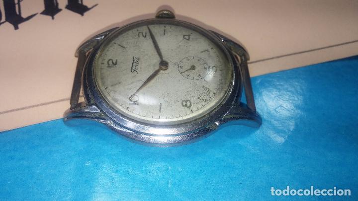 Relojes de pulsera: Botito y muy antiguisimo reloj de cuerda de caballero FORTIS - Foto 13 - 101285619