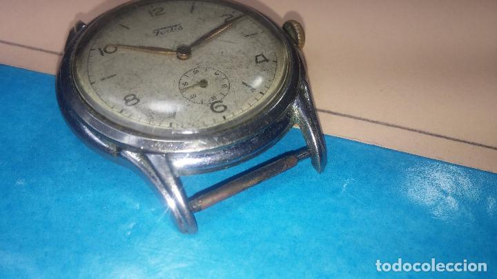 Relojes de pulsera: Botito y muy antiguisimo reloj de cuerda de caballero FORTIS - Foto 14 - 101285619
