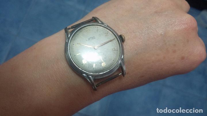 Relojes de pulsera: Botito y muy antiguisimo reloj de cuerda de caballero FORTIS - Foto 15 - 101285619