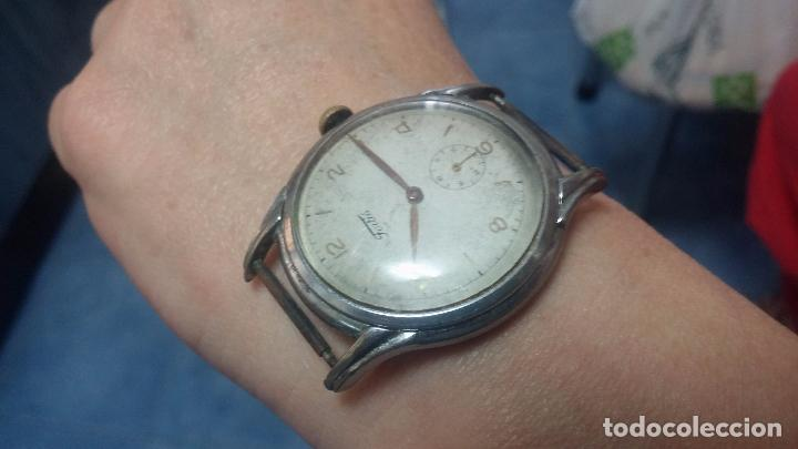 Relojes de pulsera: Botito y muy antiguisimo reloj de cuerda de caballero FORTIS - Foto 16 - 101285619