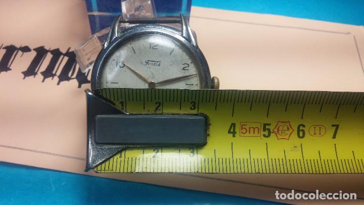 Relojes de pulsera: Botito y muy antiguisimo reloj de cuerda de caballero FORTIS - Foto 21 - 101285619