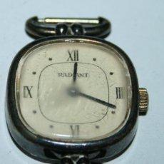 Relojes de pulsera: RELOJ RADIANT FOND ACIER INOXYDABLE - SWISS MADE 3075. Lote 101310971