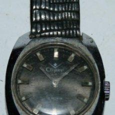 Relojes de pulsera: RELOJ CLIPPER 17 RUBIS - FOND ACIER INOXYDABLE - SWISS MADE 1888. Lote 101312759