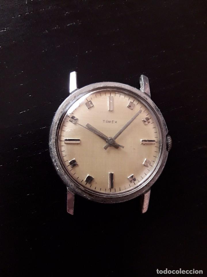 RELOJ TIMEX CARGA MANUAL, VINTAGE , NO FUNCIONA (Relojes - Pulsera Carga Manual)