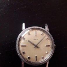 Relojes de pulsera: RELOJ TIMEX CARGA MANUAL, VINTAGE , NO FUNCIONA. Lote 101727003