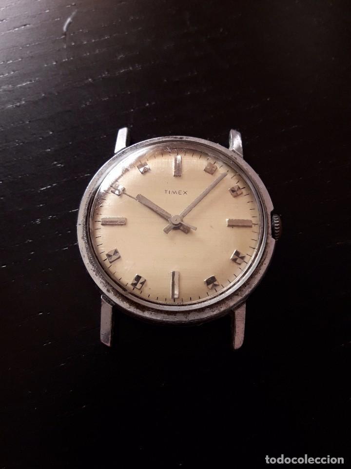 Relojes de pulsera: Reloj Timex carga manual, vintage , no funciona - Foto 2 - 101727003