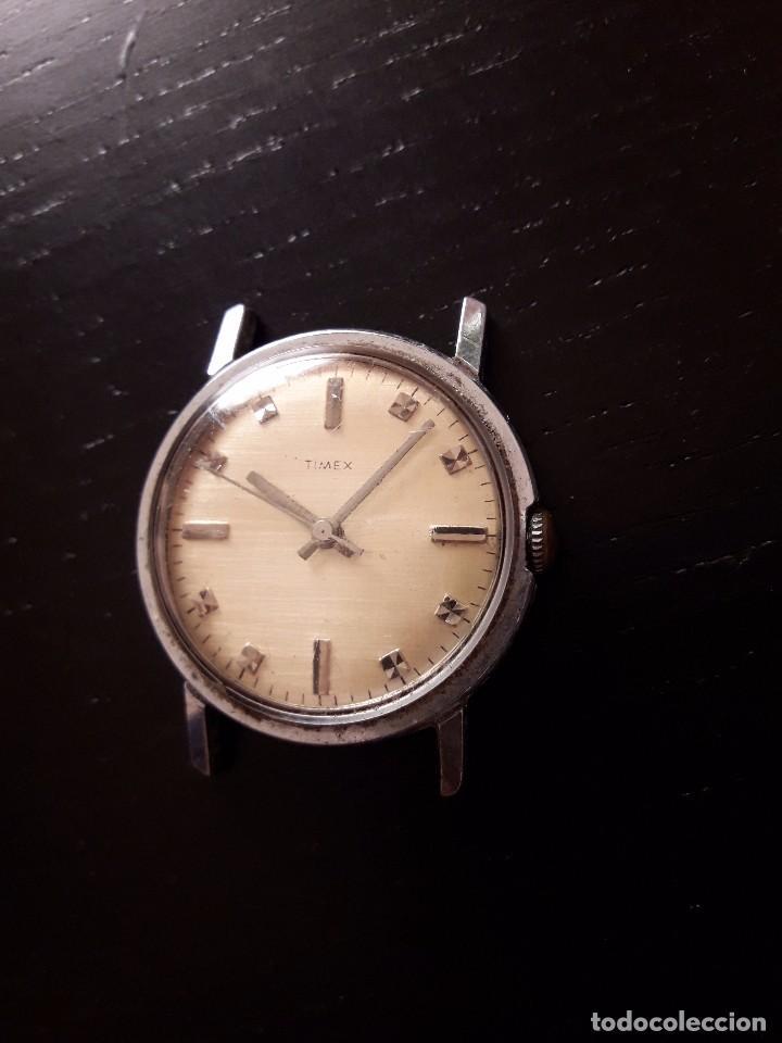 Relojes de pulsera: Reloj Timex carga manual, vintage , no funciona - Foto 3 - 101727003