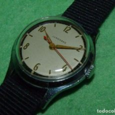 Relojes de pulsera: PRECIOSO RELOJ JUNGHANS TIPO MILITAR CARGA MANUAL AÑOS 50 CALIBRE 93/1 ALEMAN BAUHAUS VINTAGE. Lote 101779331