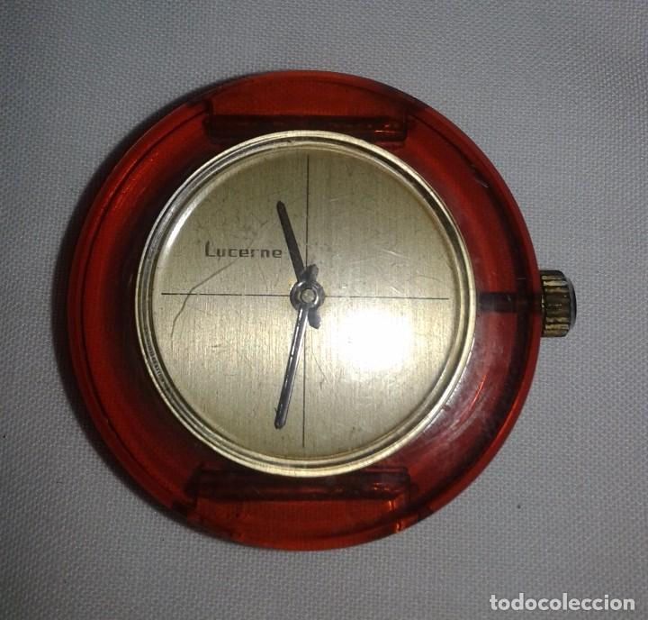 RELOJ MARCA LUCERNE - FUNCIONA - SWISS (Relojes - Pulsera Carga Manual)