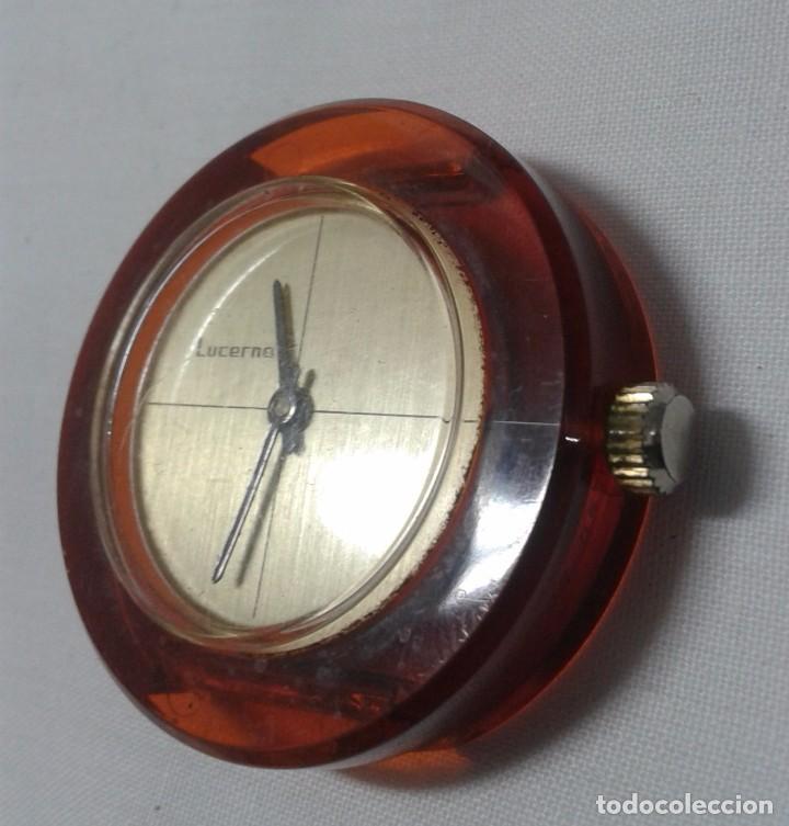 Relojes de pulsera: RELOJ MARCA LUCERNE - FUNCIONA - SWISS - Foto 3 - 101981871
