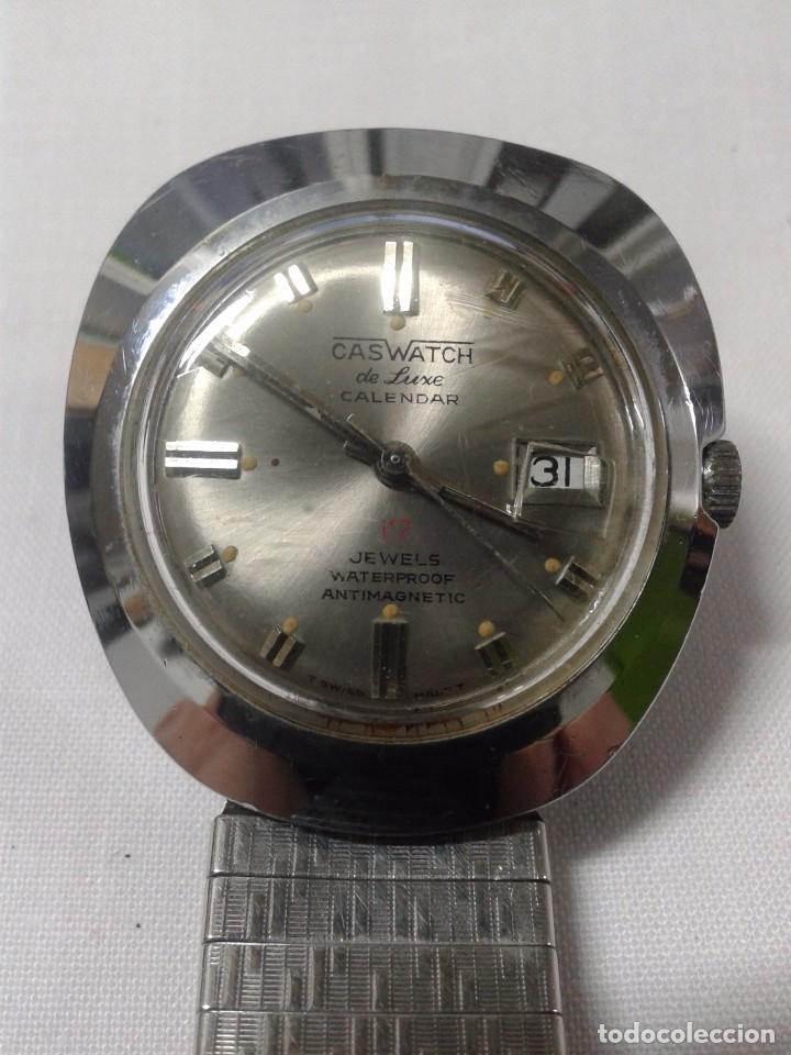 RELOJ MARCA CASWATCH - NO FUNCIONA - 17 JEWELS (Relojes - Pulsera Carga Manual)