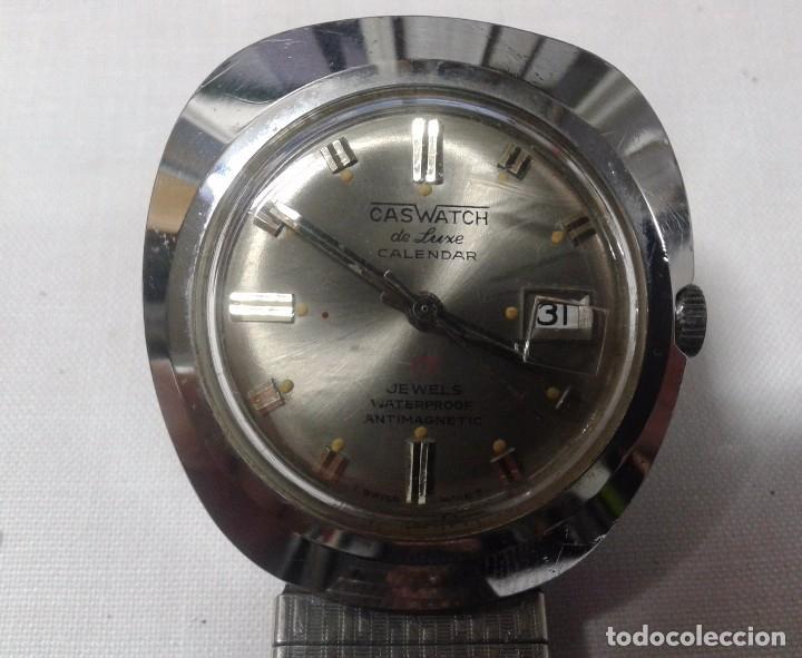 Relojes de pulsera: RELOJ MARCA CASWATCH - NO FUNCIONA - 17 JEWELS - Foto 2 - 102004139