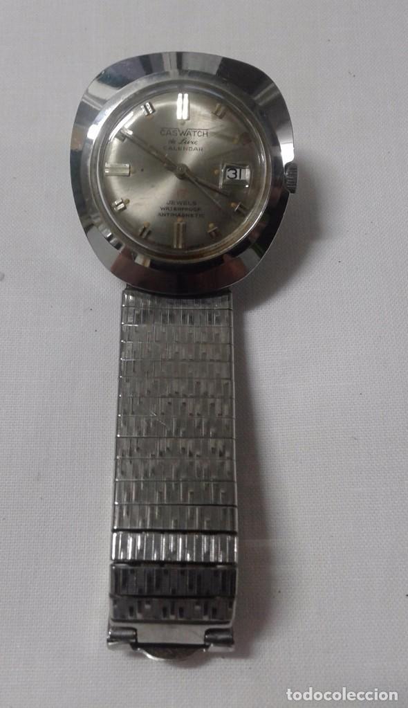 Relojes de pulsera: RELOJ MARCA CASWATCH - NO FUNCIONA - 17 JEWELS - Foto 3 - 102004139