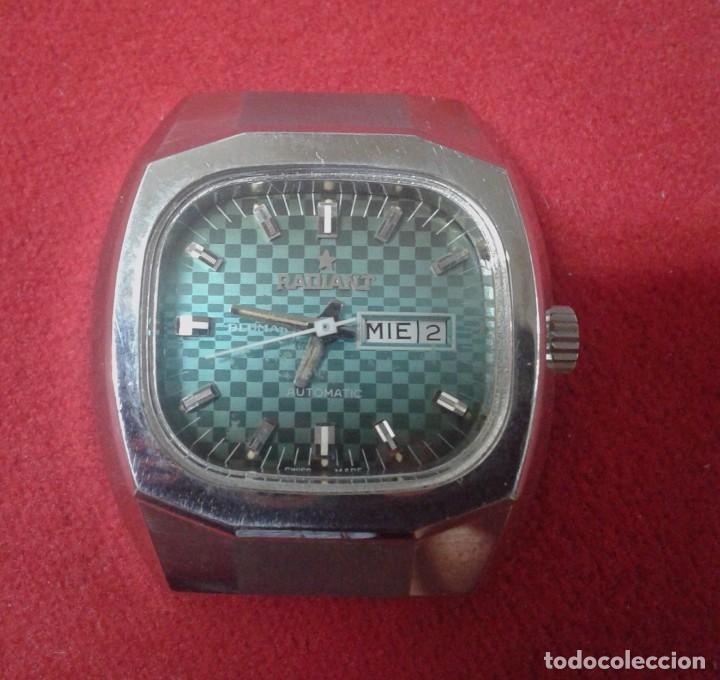 RELOJ MARCA RADIANT - FUNCIONA (Relojes - Pulsera Carga Manual)