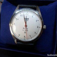 Relojes de pulsera: ORIGINAL RELOJ CON NUMEROS EN HINDI MARCA HMT VINTAGE DE CARGA MANUAL (CUERDA) , TECNOLOGÍA CITIZEN. Lote 113302910