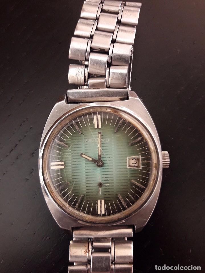RELOJ SUPER WATCH SHOCKPROOF, FUNCIONA (Relojes - Pulsera Carga Manual)