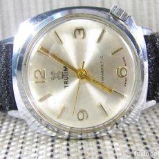 Relojes de pulsera: ELEGANTE Y SEÑORIAL RELOJ MECANICO AÑOS 70 DE CABALLERO FUNCIONA LOTE WATCHES. Lote 102595091