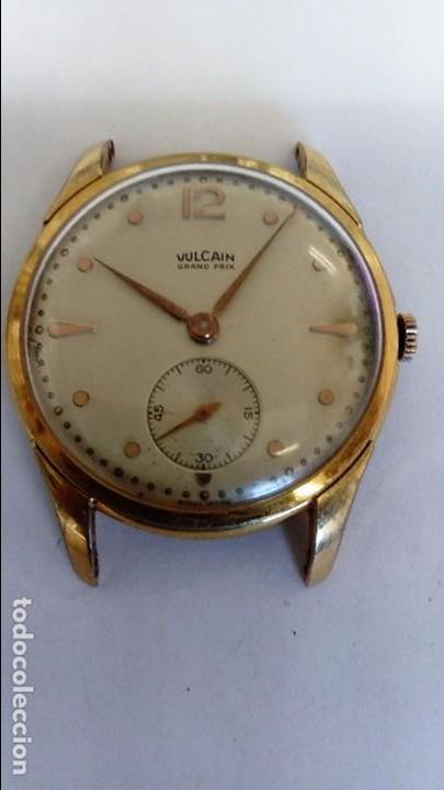 IMPRESIONANTE RELOJ VULCAIN GRAN PRIX (Relojes - Pulsera Carga Manual)