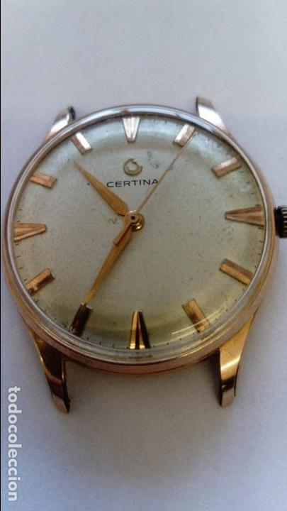 RELOJ CERTINA SEGUNDERO CENTRAL (Relojes - Pulsera Carga Manual)