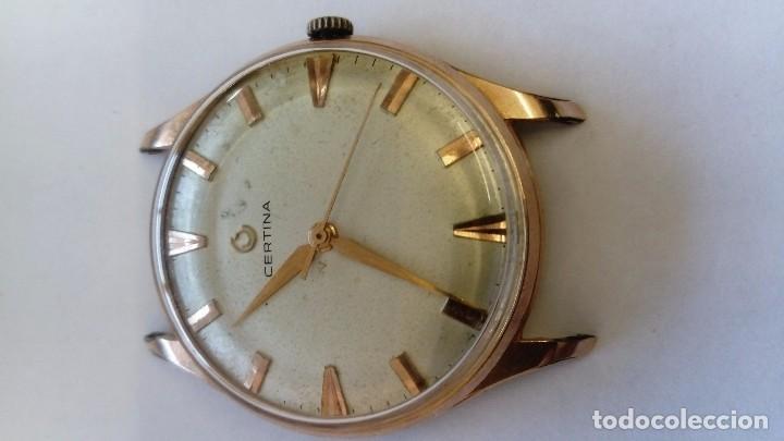 Relojes de pulsera: Reloj Certina segundero Central - Foto 2 - 102671259