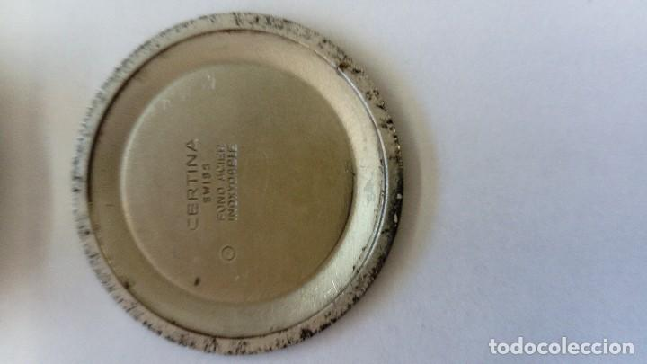Relojes de pulsera: Reloj Certina segundero Central - Foto 4 - 102671259