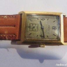 Relojes de pulsera: RELOJ DE PULSERA AÑOS 20 DE ORO MACIZO AMARILLO 18 K-MARCA ZENITH. Lote 102728551