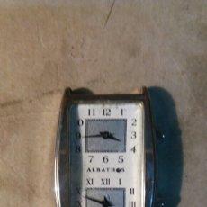 Relojes de pulsera: RELOJ ALBATROS. DOS RELOJES EN UNO.. Lote 102792860