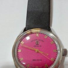 Relojes de pulsera: RELOJ FAVRE-LEUBA (SEA KING). SWISS MADE 17 JEWELS CARGA MANUAL. Lote 102931663