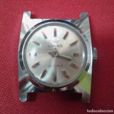 Relojes de pulsera: RELOJ MARCA LINGS - 21 PRIX - FUNCIONA. Lote 102948159
