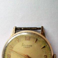 Relojes de pulsera: RELOJ DE PULSERA SIN CORREA, MARCA NIVADA CADET, SUIZO, FUNCIONANDO, ESFERA 30 MM. Lote 103145059