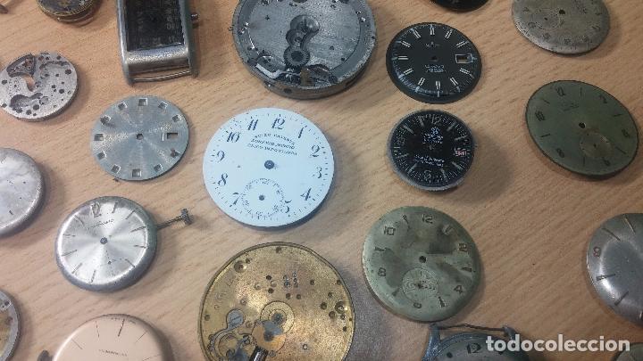 Relojes de pulsera: Gran colección de maquinas de reloj o relojes antiguos muy botitos, para reparar o para piezas... - Foto 8 - 103250643