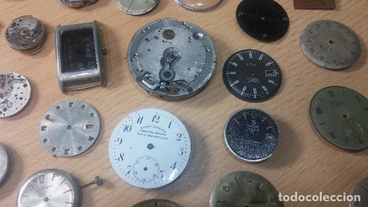 Relojes de pulsera: Gran colección de maquinas de reloj o relojes antiguos muy botitos, para reparar o para piezas... - Foto 9 - 103250643