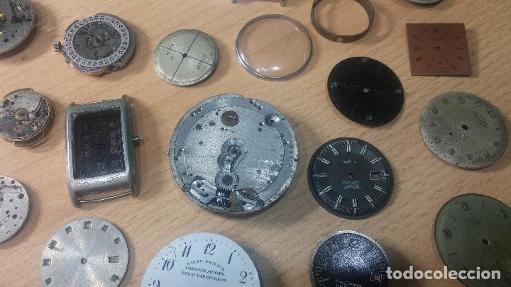 Relojes de pulsera: Gran colección de maquinas de reloj o relojes antiguos muy botitos, para reparar o para piezas... - Foto 10 - 103250643