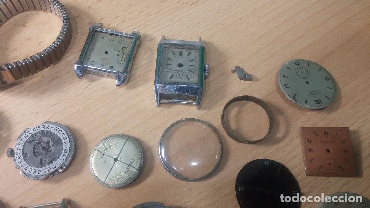 Relojes de pulsera: Gran colección de maquinas de reloj o relojes antiguos muy botitos, para reparar o para piezas... - Foto 12 - 103250643