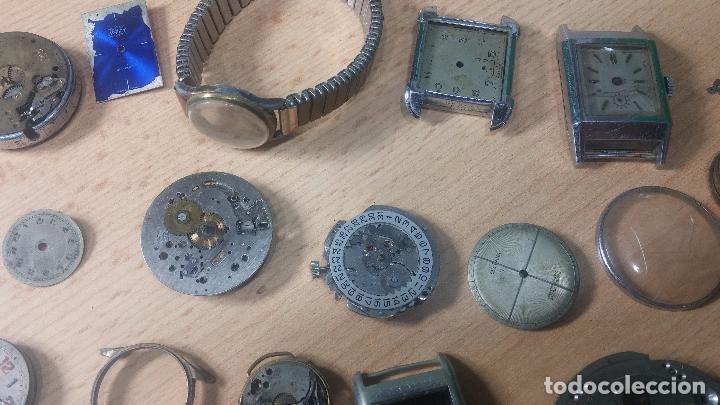 Relojes de pulsera: Gran colección de maquinas de reloj o relojes antiguos muy botitos, para reparar o para piezas... - Foto 13 - 103250643