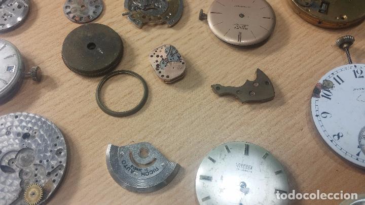 Relojes de pulsera: Gran colección de maquinas de reloj o relojes antiguos muy botitos, para reparar o para piezas... - Foto 19 - 103250643