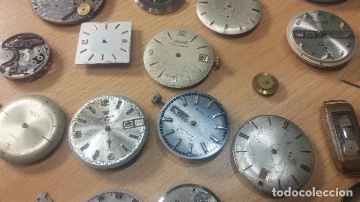 Relojes de pulsera: Gran colección de maquinas de reloj o relojes antiguos muy botitos, para reparar o para piezas... - Foto 22 - 103250643