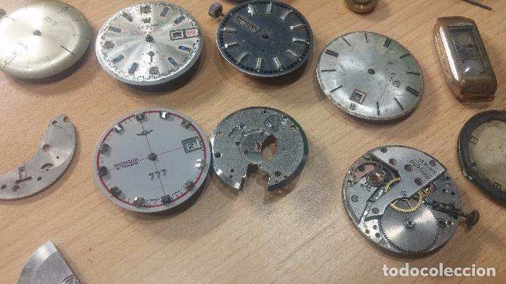 Relojes de pulsera: Gran colección de maquinas de reloj o relojes antiguos muy botitos, para reparar o para piezas... - Foto 24 - 103250643