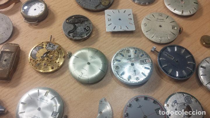Relojes de pulsera: Gran colección de maquinas de reloj o relojes antiguos muy botitos, para reparar o para piezas... - Foto 26 - 103250643
