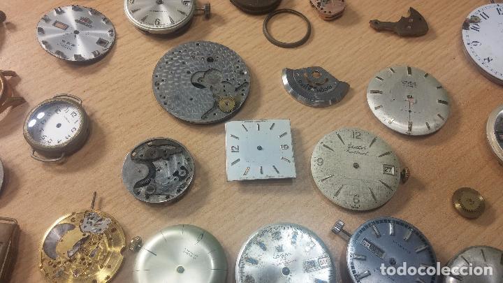 Relojes de pulsera: Gran colección de maquinas de reloj o relojes antiguos muy botitos, para reparar o para piezas... - Foto 27 - 103250643