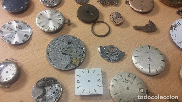 Relojes de pulsera: Gran colección de maquinas de reloj o relojes antiguos muy botitos, para reparar o para piezas... - Foto 28 - 103250643