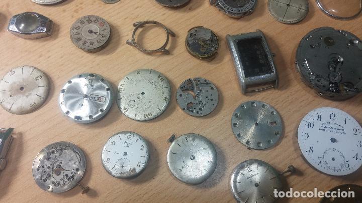Relojes de pulsera: Gran colección de maquinas de reloj o relojes antiguos muy botitos, para reparar o para piezas... - Foto 33 - 103250643