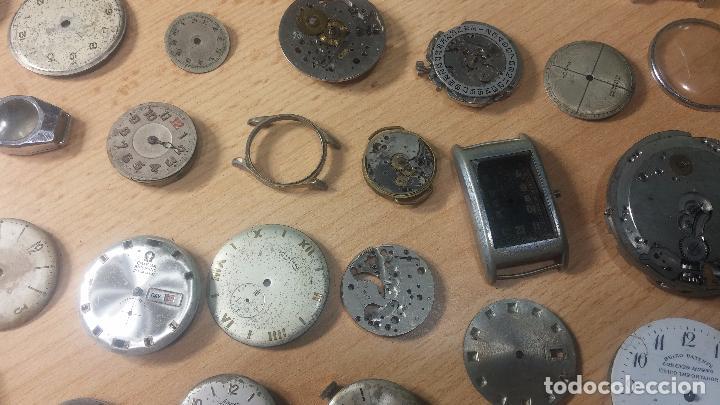Relojes de pulsera: Gran colección de maquinas de reloj o relojes antiguos muy botitos, para reparar o para piezas... - Foto 34 - 103250643